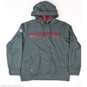 Nike Redskins NFL Gray Hoodie Size L